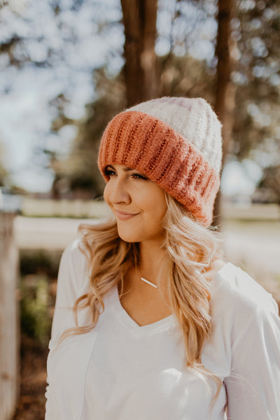Color Block Knit Beanie {MULTIPLE COLOR OPTIONS}