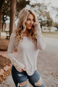 Cozy As Can Be Crochet Top