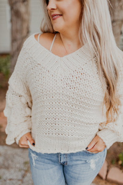 Connect The Dots Sweater {Multiple Colors}