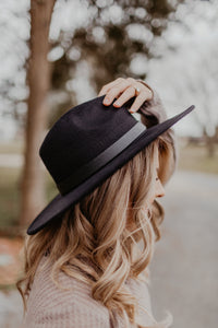 Wide Brim Hat {MULTIPLE COLORS}