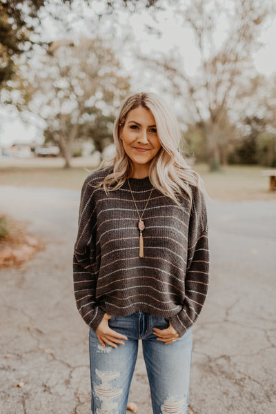 The Anna Striped Sweater {Z SUPPLY}
