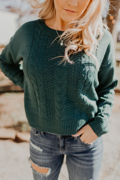 Remember Tomorrow Sweater {MULTIPLE COLOR OPTIONS}
