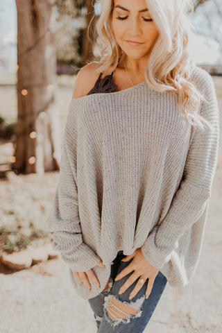 The Simple Truth Slouchy Sweater