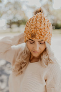 Chenille Fleece Lined Beanie