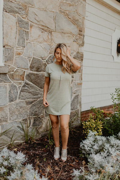 The Triblend T Shirt Dress