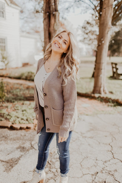 Take It Easy Cardigan {MULTIPLE COLORS}