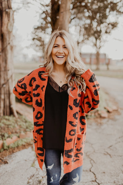 Leave The Leopard To Me Cardigan {MULTIPLE COLORS}
