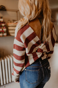 Pumpkin Knot Sweater