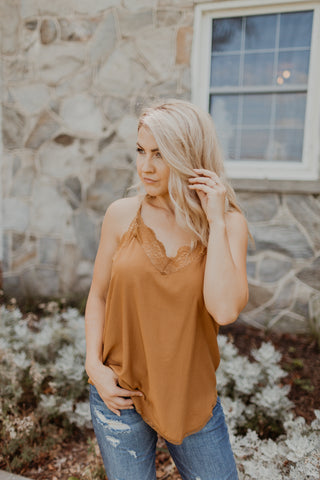 Graceful Satin Cami {MULTIPLE COLORS}