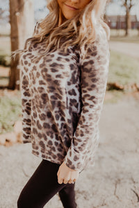 The Furry Leopard Top