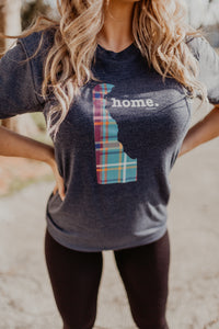 Delaware Green Plaid Limited Edition Home T