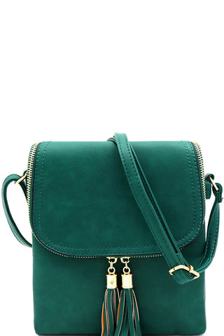 Flap Crossbody {MULTIPLE COLOR OPTIONS}