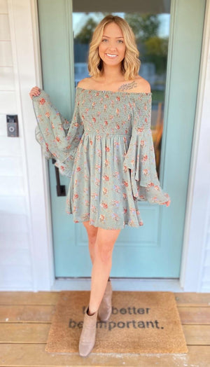Sweeter In Floral Dress