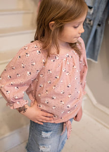 Tween Pocket Full Of Posies Top