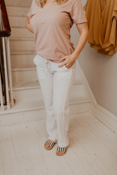 Lovely Linen Pant {MULTIPLE COLORS}
