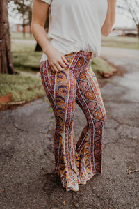 Pause For Paisley Flare Bottoms