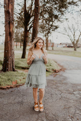 Dainty & Delicate Dress {MULTIPLE COLORS}