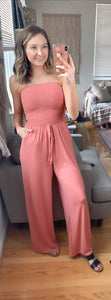 Cruise On By Jumpsuit {MULTIPLE COLORS}