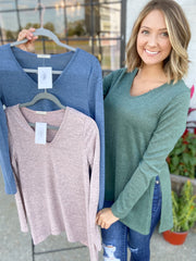 Pretty Style Top {MULTIPLE COLORS}