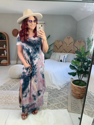 Always Room For More Tie Dye Maxi