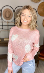 DOORBUSTER Blushing Over You Sweater{Final Sale}