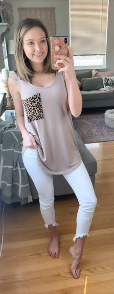 Loving Leopard Tank {{VIP FINAL SALE }}