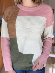 Piece It Together Sweater
