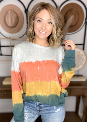 Don't Apologize Tie Dye Top