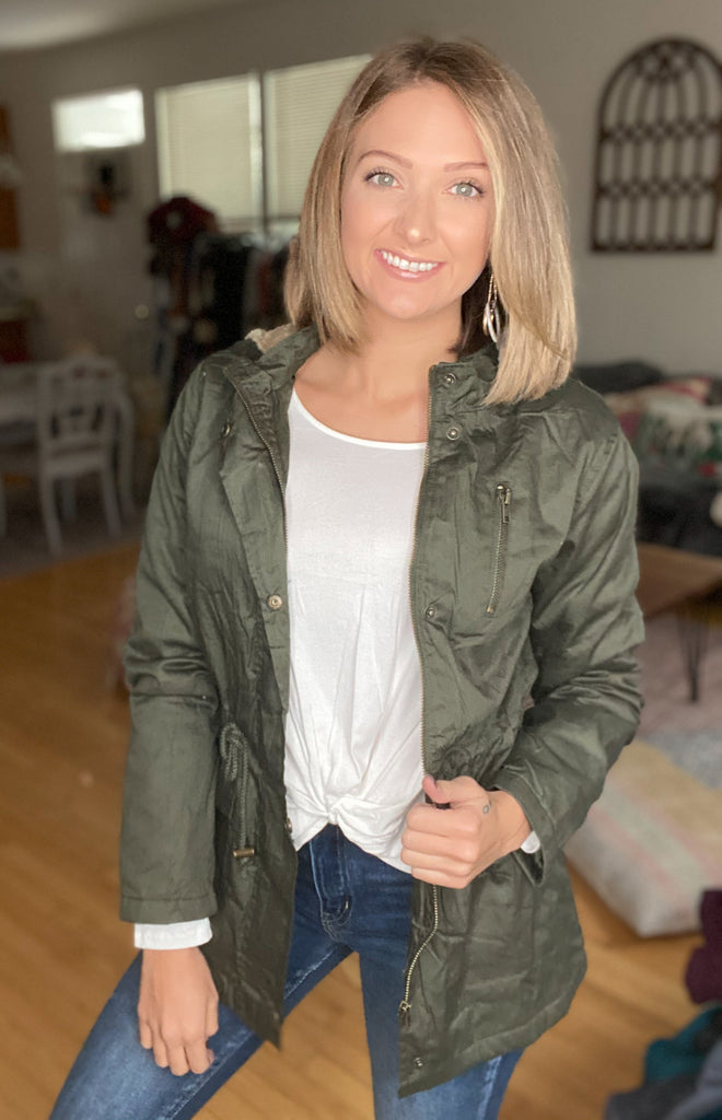 Bundle Up Jacket {MULTIPLE COLORS}