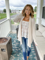 Sweet Comforts Cardigan {MULTIPLE COLORS}