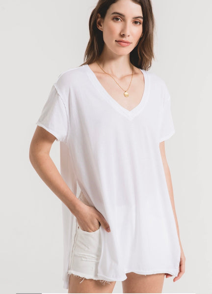 The Organic Cotton Side Slit Tunic