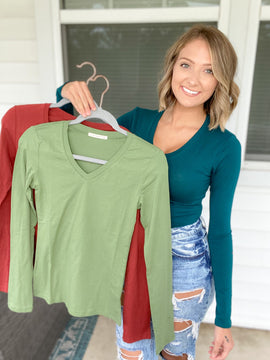 Classic Long Sleeve {MULTIPLE COLORS}