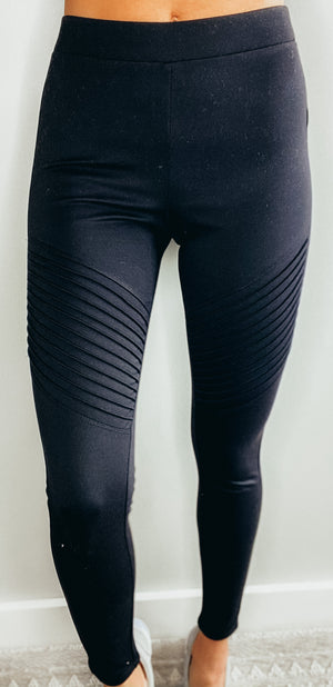 DOORBUSTER Ready For It Moto Leggings/Pants {FINAL SALE} {3 COLORS}