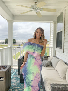 How To Tie Dye Maxi Dress