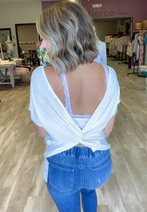 Back Track Top {MULTIPLE COLORS}