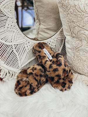 DOORBUSTER Leopard Slipper {FINAL SALE}