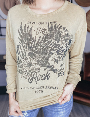 Wildflowers Of Rock Graphic Top