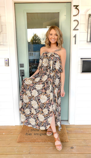 Tell Your Story Floral Maxi Dress