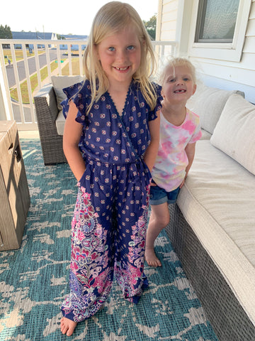 Tween Boho Beauty Jumpsuit
