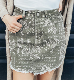 Put A Spin On It Skirt