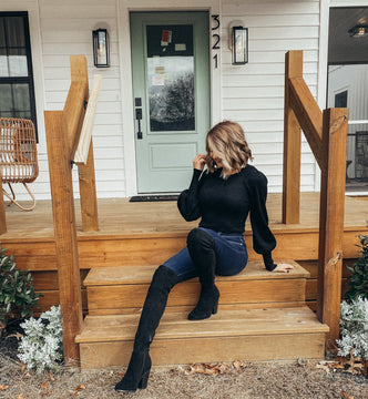 Keep Up Over The Knee Boot