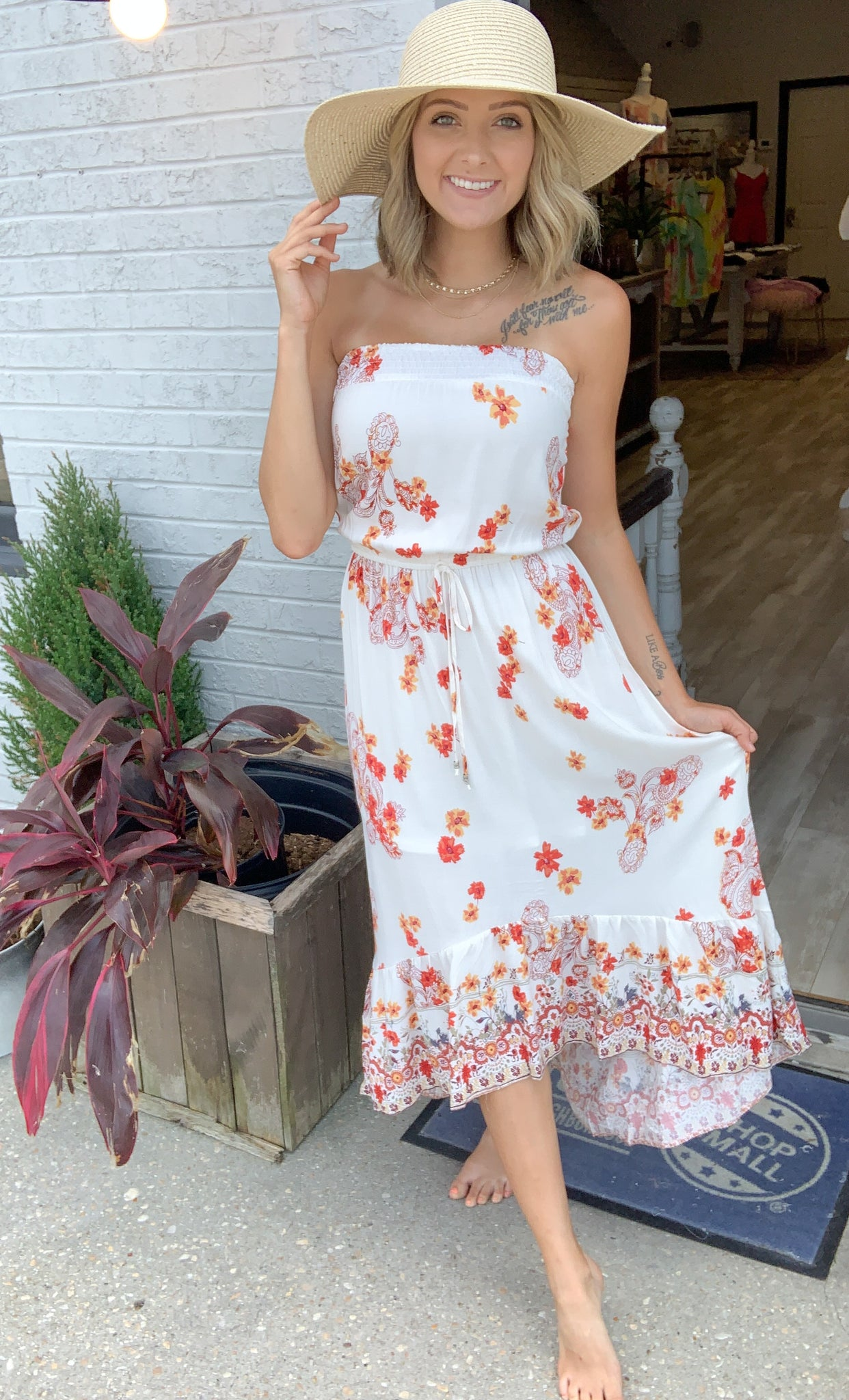 Twirling At Sunset Dress