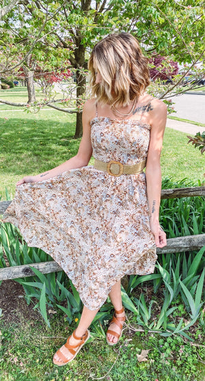 Twirl Into The Sunset Dress