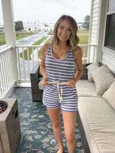Making Plans Striped Romper {MULTIPLE COLORS}