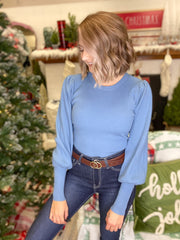 Retail Therapy Sweater {MULTIPLE COLORS}