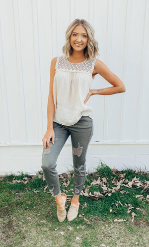 Basic With A Punch Top {MULTIPLE COLORS}