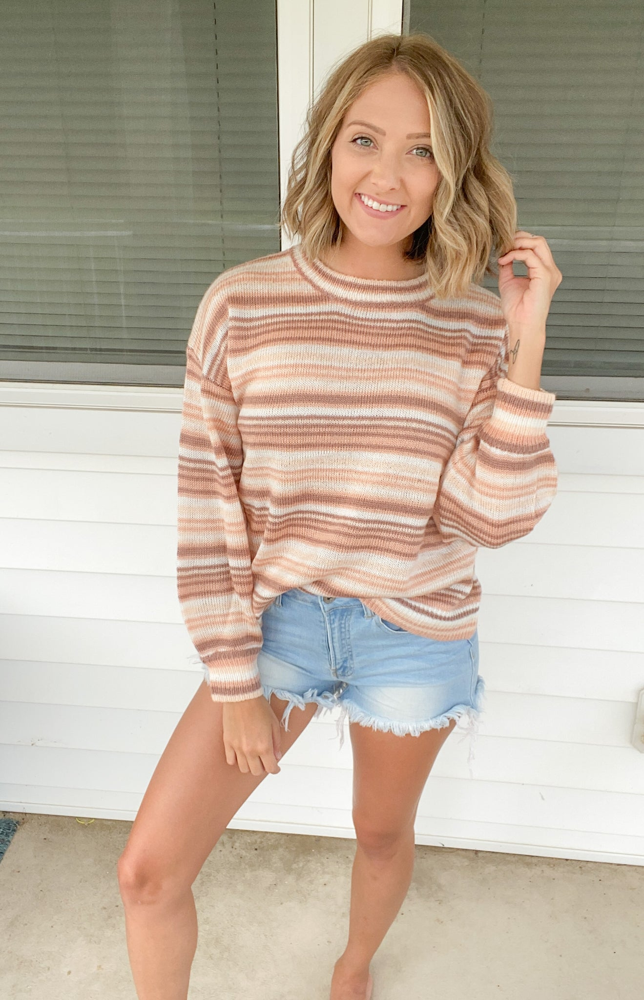 Blushed Beauty Sweater