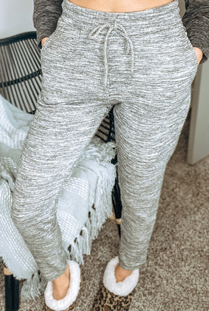 Monday Morning High Rise Fleece Joggers {MULTIPLE COLORS}