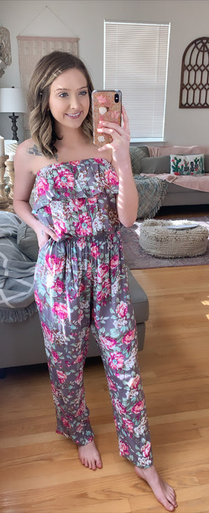 DOORBUSTER Jumpin Through Vines Jumpsuit [FINAL SALE]
