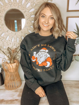 No Laws Christmas Sweatshirt